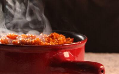 Bulgur en rode paprika