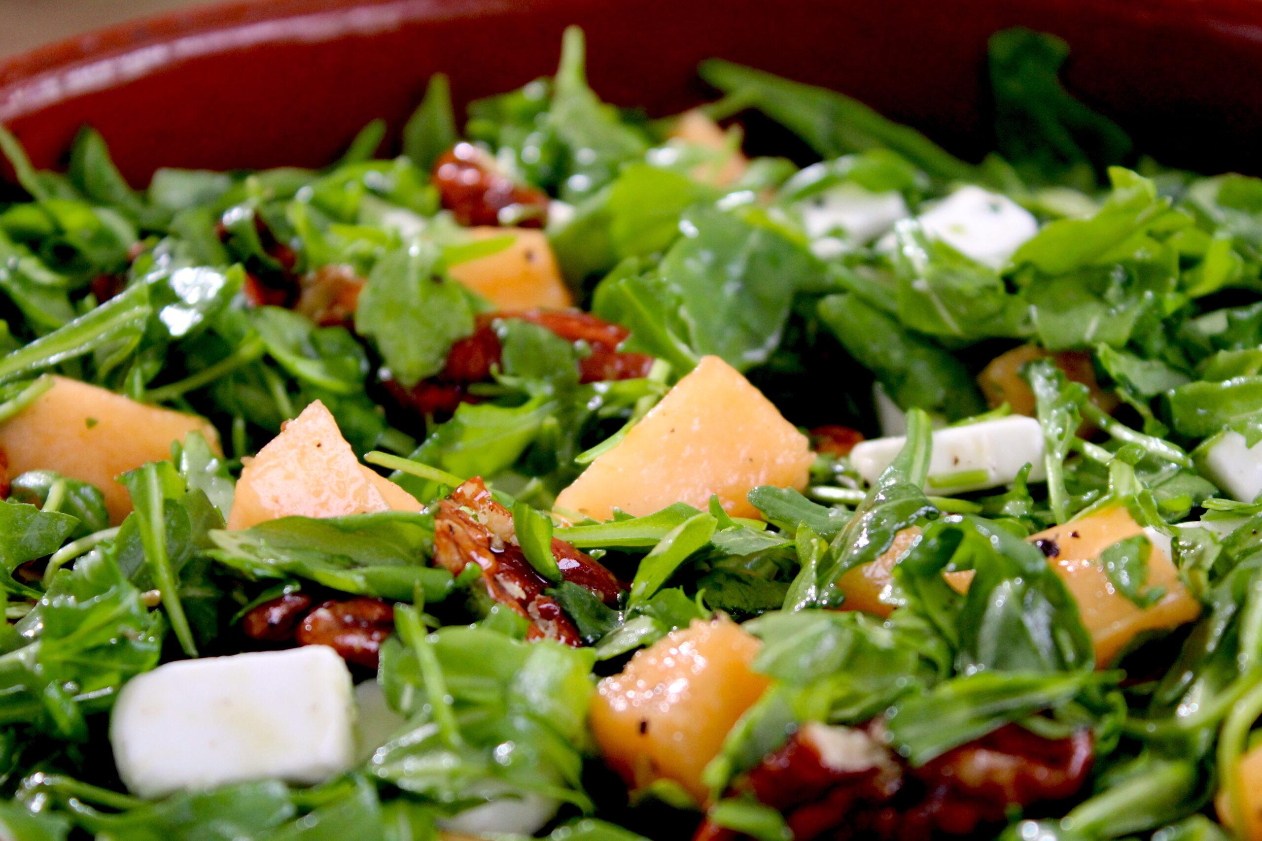 Rucola Meloen salade