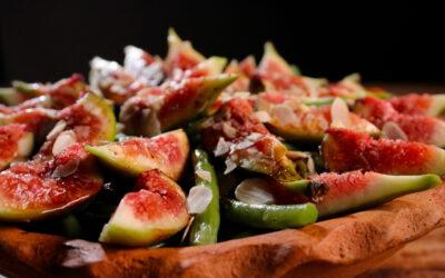 Spectacular fig salad