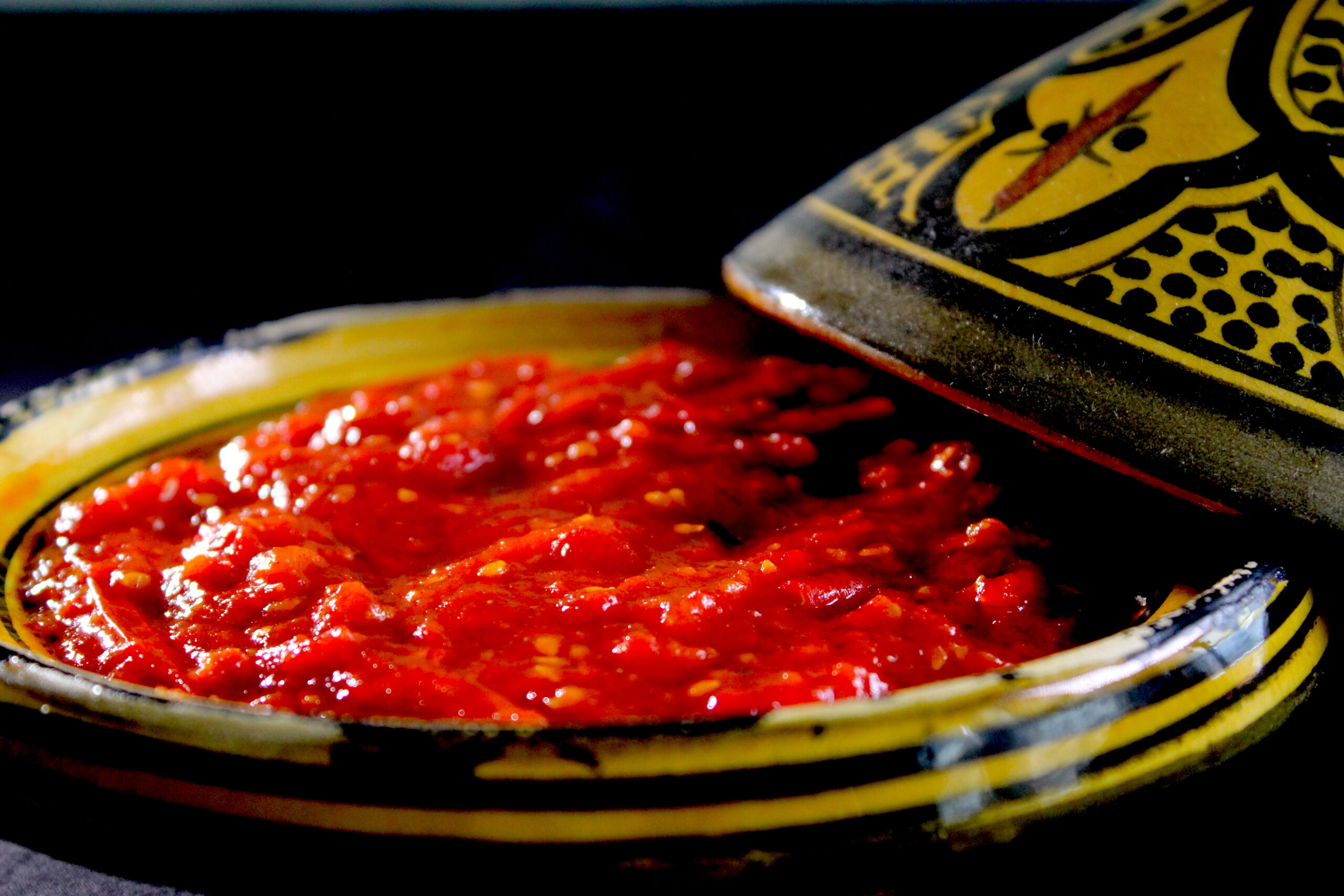 Sweet tomato dip