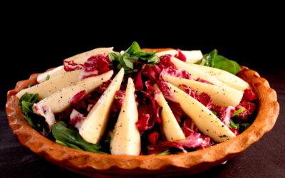 Radicchio peer salade