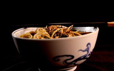 Ramen noodles soup