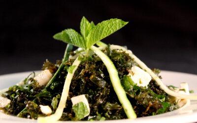 Knapperige boerenkoolsalade