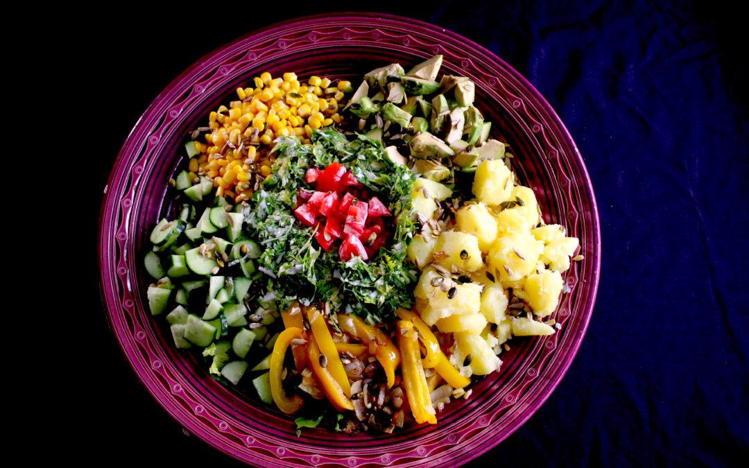 Salad à la le frigo