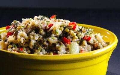 Quinoa venkel salade