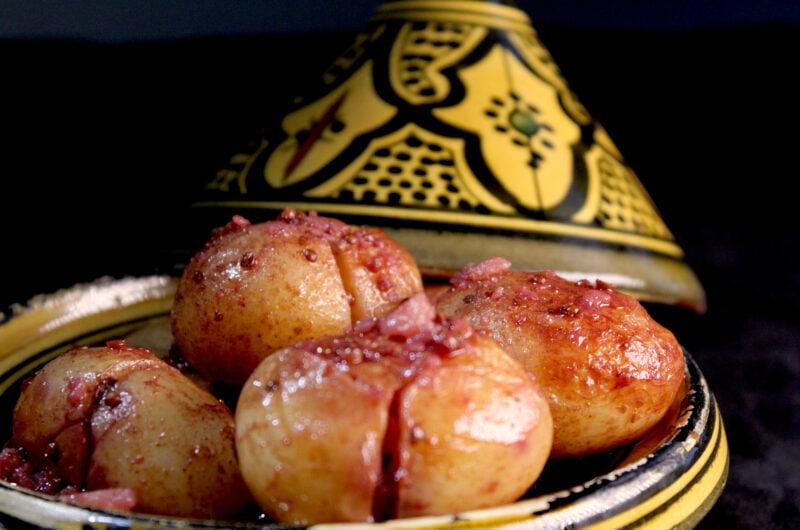 Batata in korianderzaad en rode wijn