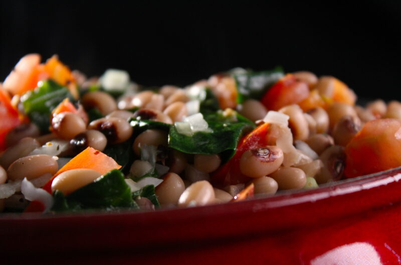 Black eyed peas salade