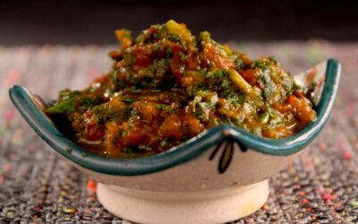 Paprika puree or dip if you like