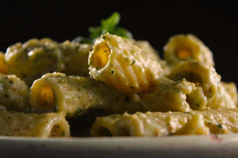 Pasta with walnut sauce