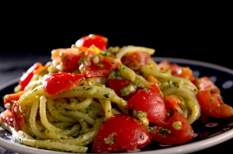 Spaghetti à la Trapanese