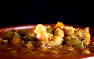 Spicy bulgur soup