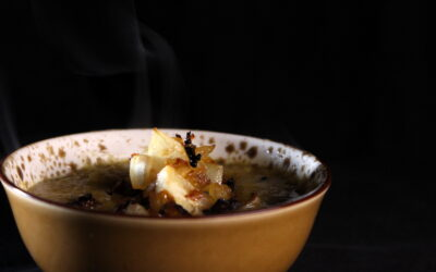 Gentle soup from Imlil