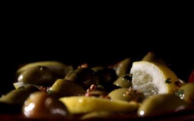 Overheerlijke gemarineerde olijven