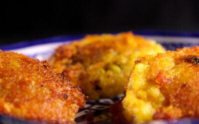 Pikante aardappelkoekjes