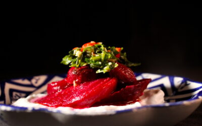 Beetroot with a spicy touch to it