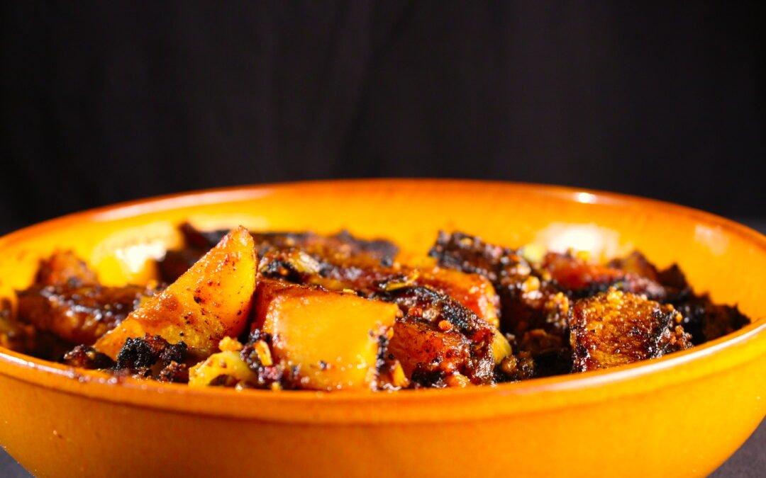 Spicy Turmeric Cayenne Fenugreek Garlic Kohlrabi