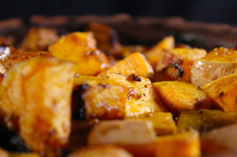 Arabic butternut squash from the oven