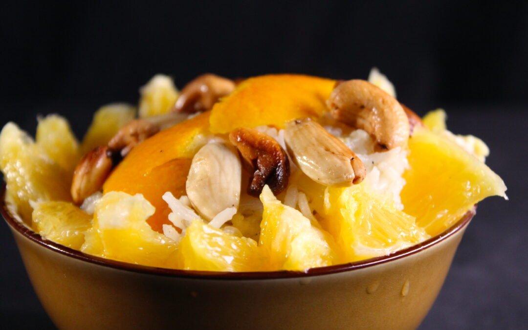 Sinaasappelrijst