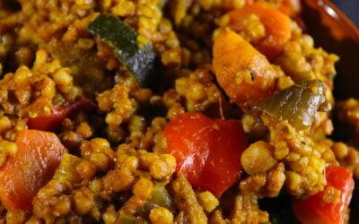 Maftoul, the Palestinian classical recipe